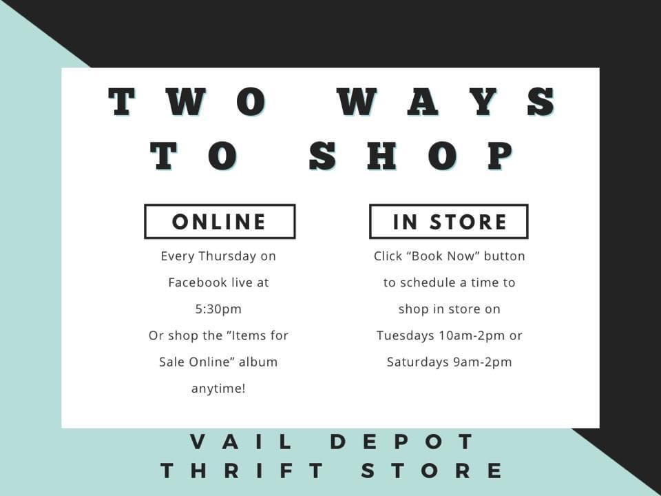 2 Way to shop